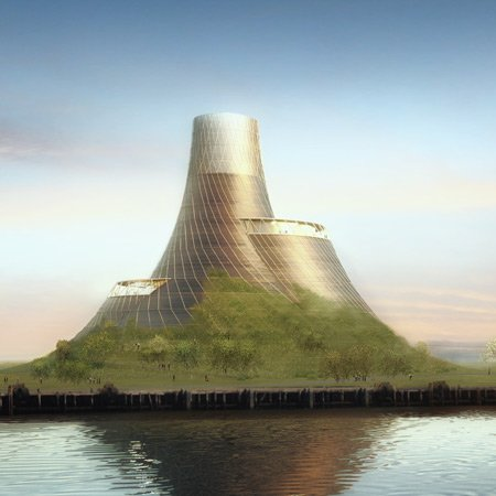 BEI-Teesside power plant by Heatherwick Studio
