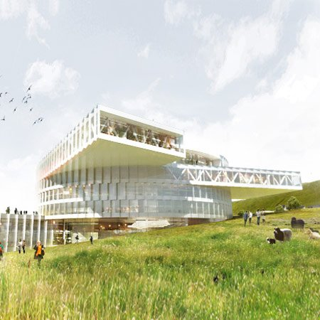 Faroe Islands Education Centre by BIG and Fuglark