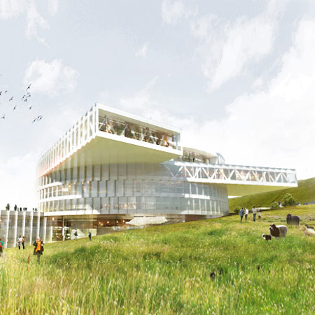 Faroe Islands Education Centre by BIG and Fuglark