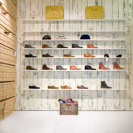 Folk Clothing store by IY A Studio