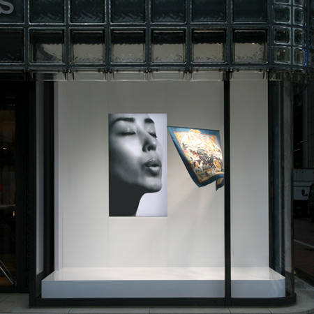Maison Hermès Window Display by Tokujin Yoshioka