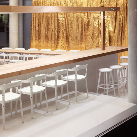 Restaurant Dos Palillos by Ronan and Erwan Bouroullec