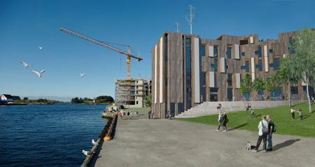 Skagen ØKOntor от различных архитекторов