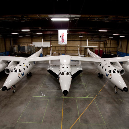SpaceShipTwo by Virgin Galactic