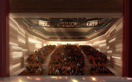 Театр Le Bateau Feu от дизайн-студии Mikou