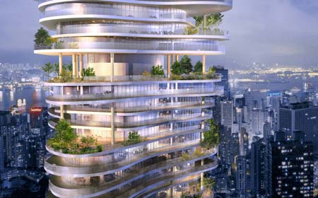 Mad proposes a new architectural concept for the course of chinese urban development to actualize a sustainable multidimensional high rise within chinas