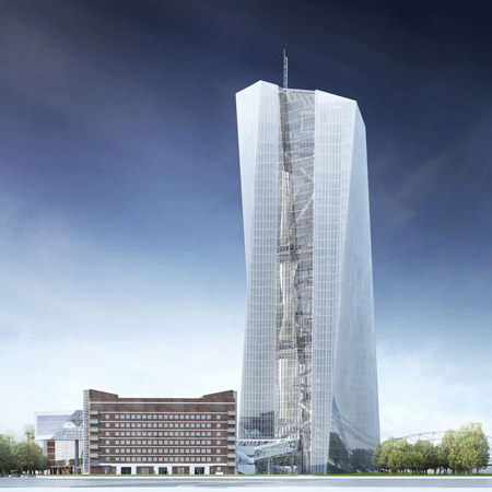 European Central Bank by Coop Himmelb(l)au