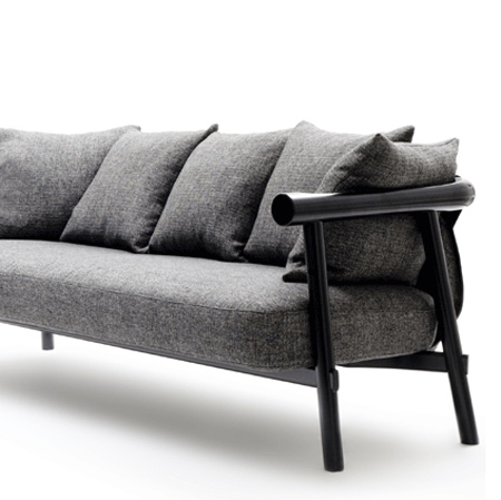 Log sofa by Patricia Urquiola for Artelano