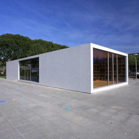 Anansi Playground Building by Mulders vandenBerk Architecten