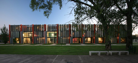 Ателье Ciudad de las Artes от Lucio Morini и архитекторов GGMPU