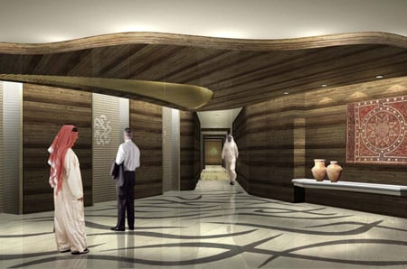The handover of offices and apartments starts in february and the armani hotel dubai will be opened by its designer giorgio armani on march 18