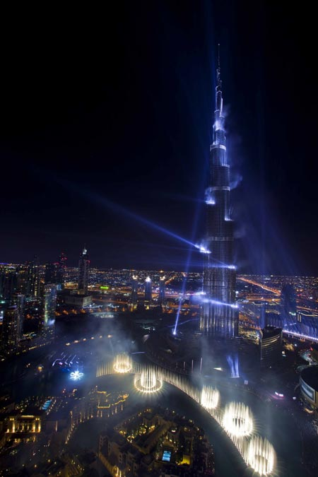 Burj Khalifa (formerly Burj Dubai) by SOM