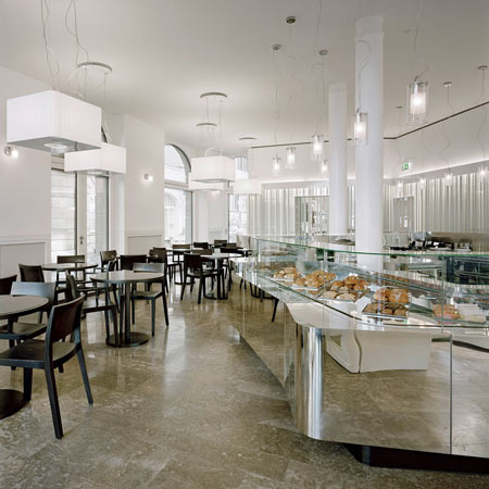 Confiserie Bachmann by HHF Architects