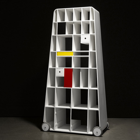 Moving Mondrian by Vladimír Ambroz
