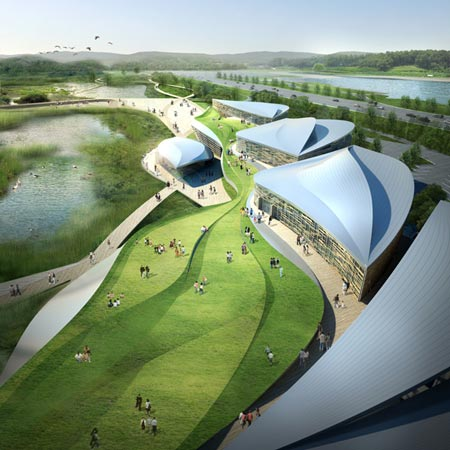 Suncheon International Wetlands Center by G.Lab*