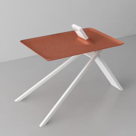 Tripod table by Noon Studio