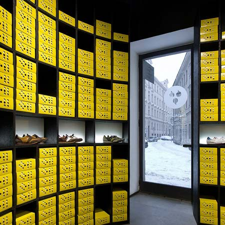 66 Gallery and Botas Concept Store by A1 Architects