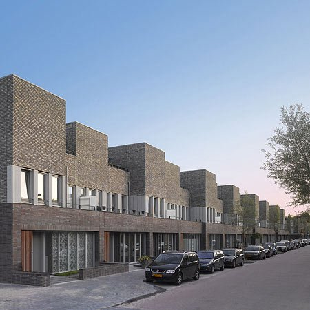 Roomburg housing by Snitker/Borst