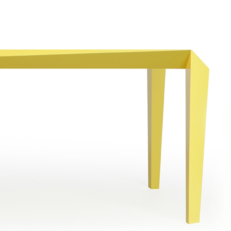 Best Called Volt the table will be launched in the Lambrate district of Milan this April