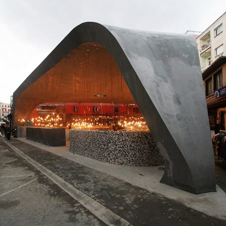 Besiktas fish market by gad dezeen for Best fish market nyc