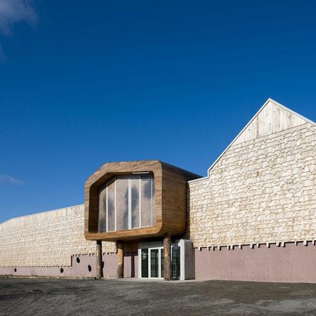Ecomusée du pays de Rennes by Guinée + Potin Architects