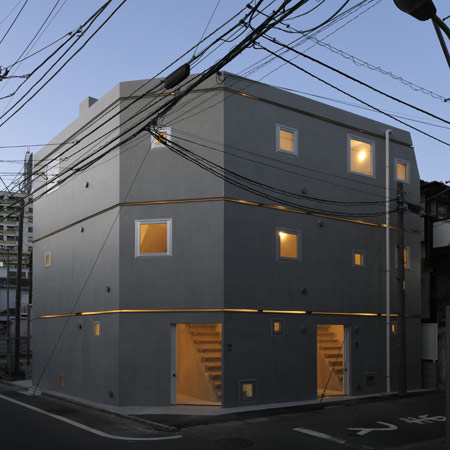 MM Apartment by Nakae Architects and Ohno Japan