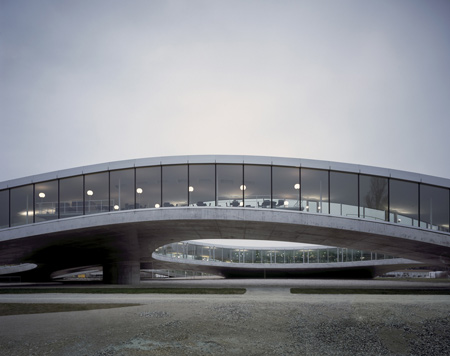 Rolex Learning Center by SANAA