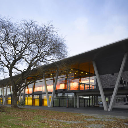 Stadthalle Offenburg by Hetzel and Ortholf