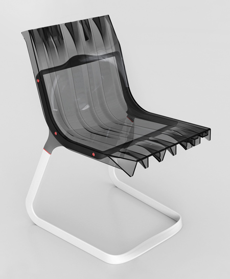 Abarth Chair by Fabio Novembre for Casamania