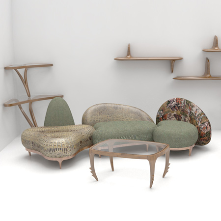 Animalia by Nigel Coates for Fratelli Boffi