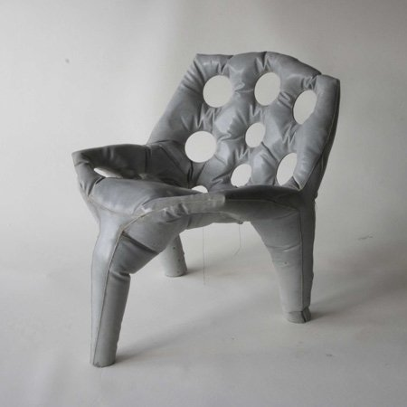 Concrete Chair by Tejo Remy & René Veenhuizen