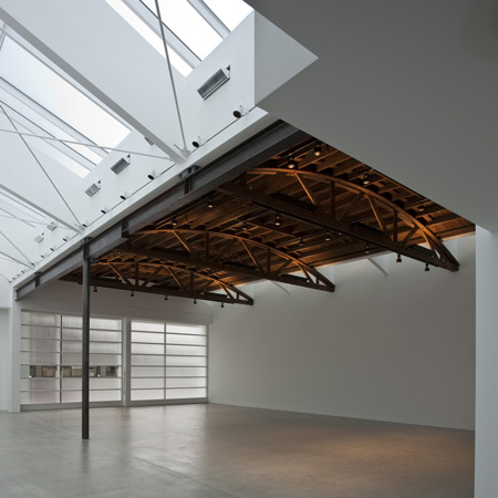 Gagosian Gallery Beverly Hills extension by Richard Meier & Partners
