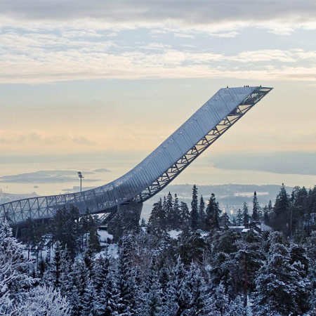 Holmenkollen ski jump by JDS Architects opens