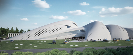 Jesolo Magica By Zaha Hadid Architects Dezeen