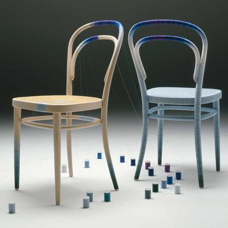 Spool Chair by Keisuke Fujiwara