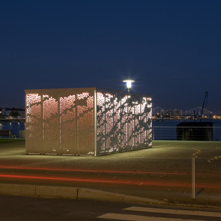 Kiosque Saint-Nazaire by Topos Architecture