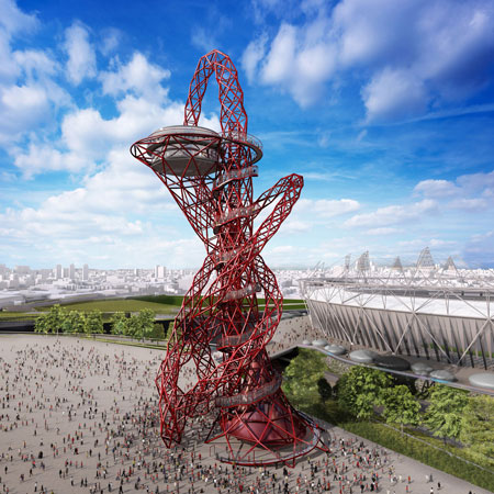 ArcelorMittal Orbit by Anish Kapoor