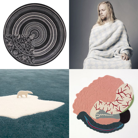 Dezeen's top ten: rugs and blankets