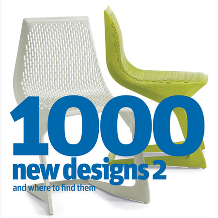 Competition: five copies of 1000 New Designs 2 to be won