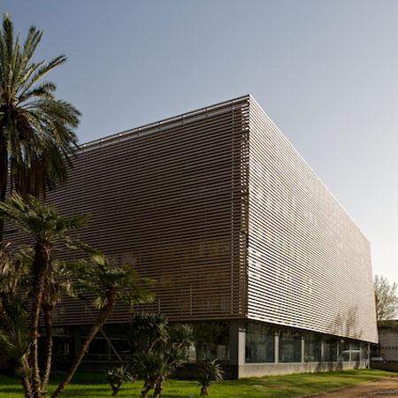 Parc de la Ciutadella sports centre by Batlle i Roig Arquitectes