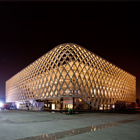 French Pavilion at Shanghai Expo 2010 by Jacques Ferrier Architectures