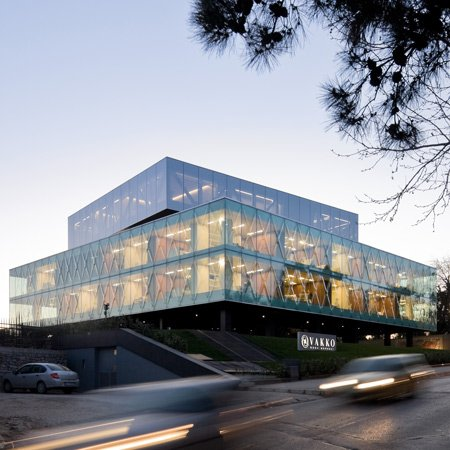 Historic space studio vakko fashion center power media for Outer wall design architecture