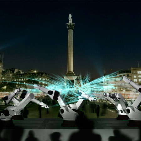 Outrace by Kram/Weisshaar for Trafalgar Square