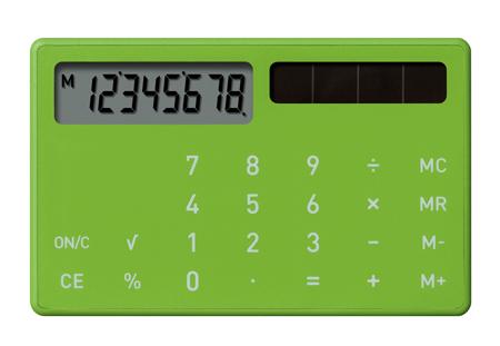 Electronic Calculator XS by plusminuszero | Dezeen