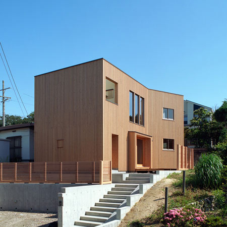 House in Atagoyama by a.un architects
