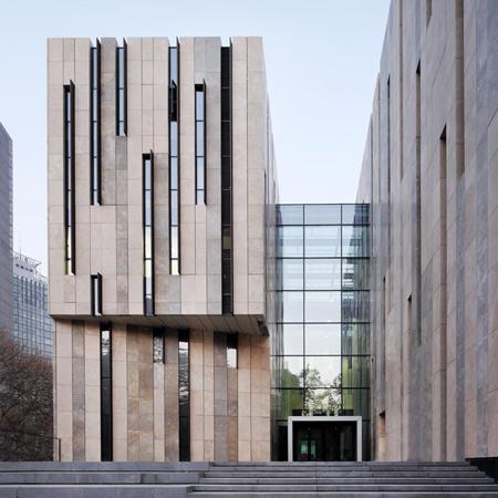 Jiangsu Provincial Art Museum by KSP Jürgen Engel Architekten