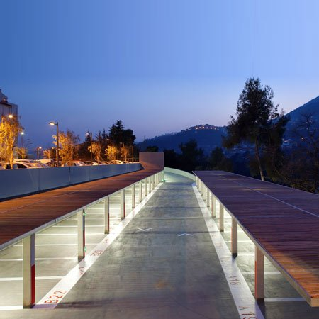 Parking Lot by N+B Architectes