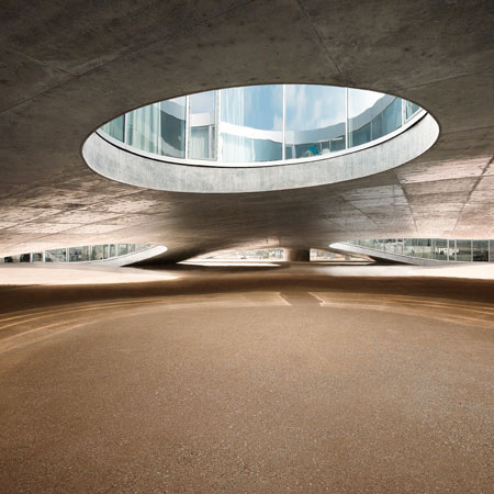 Rolex Learning Centre by SANAA