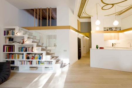 Santpere47 by miel arquitectos dezeen - Open mezzanine ...