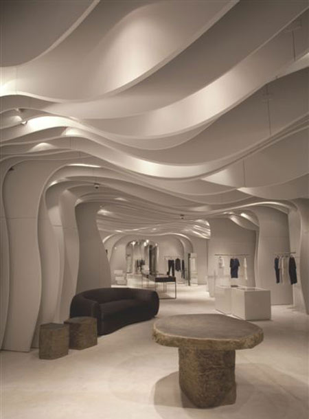 Boutique runway by cls architetti dezeen - Interesting interior designs ...